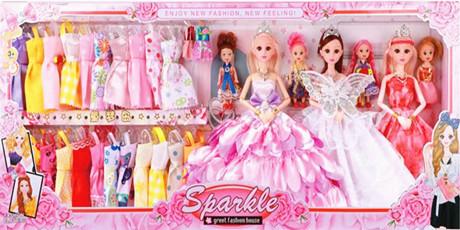 【年货特惠】畅销61年,做工精细、布料考究!仅29.9元起抢【芭比娃娃】套装礼盒,每个女孩的心爱之物,给孩子一个公主般的童年!